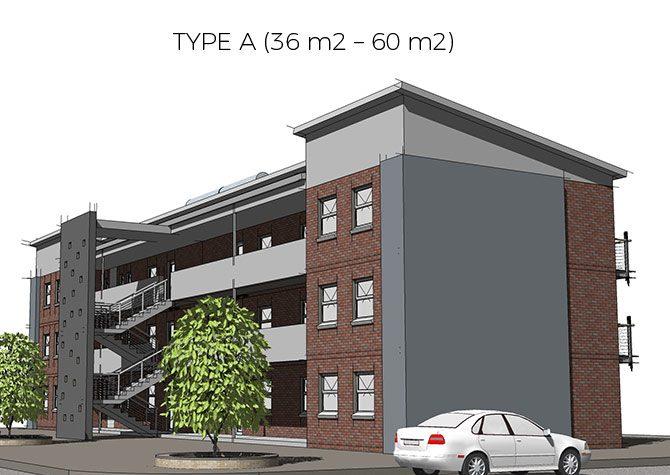 TYPE A [36 m2 - 60 m2]